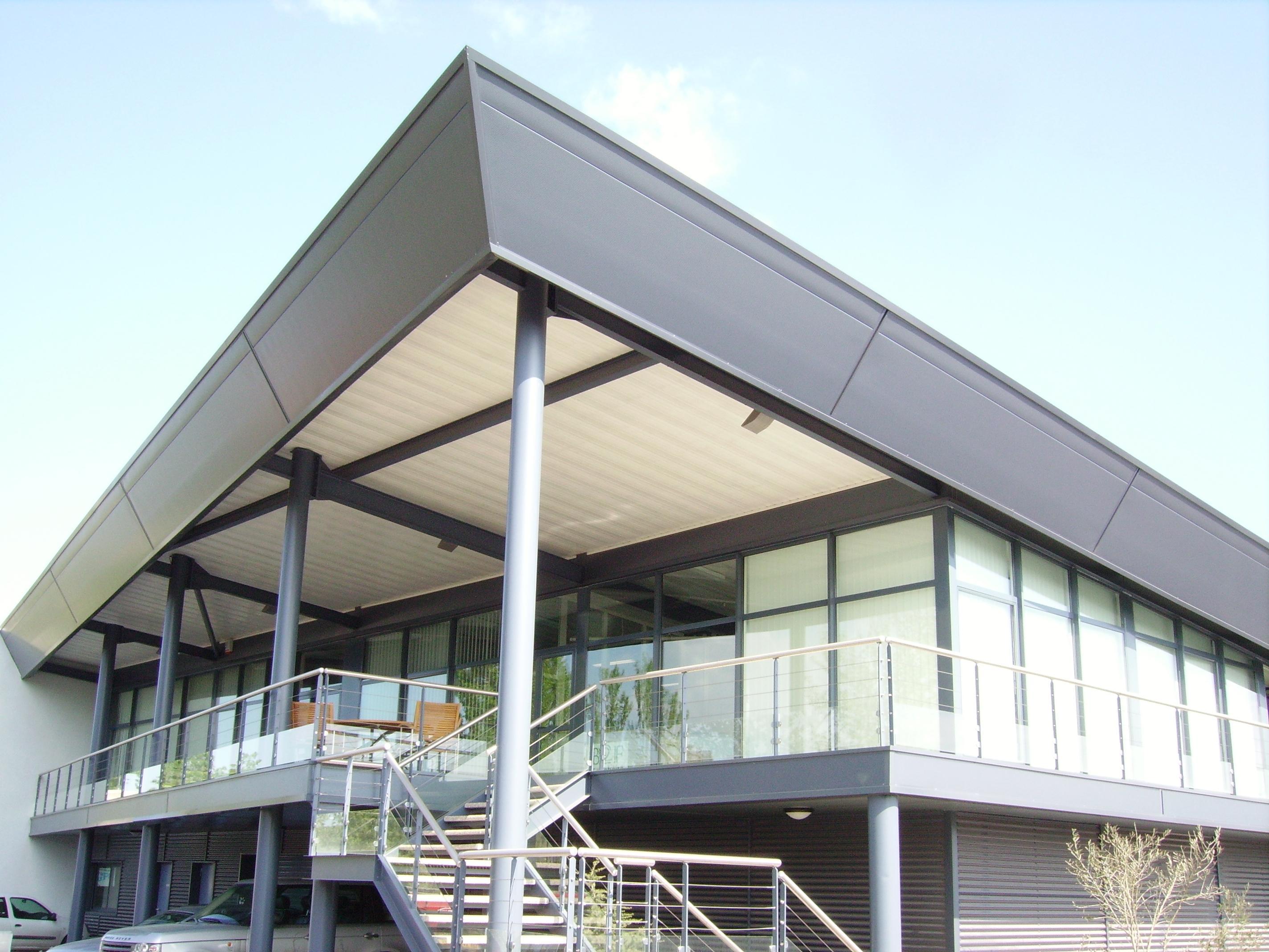 Couverture etancheite bardage vertical